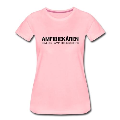 Amfibiekåren -Swedish Amphibious Corps - Premium-T-shirt dam