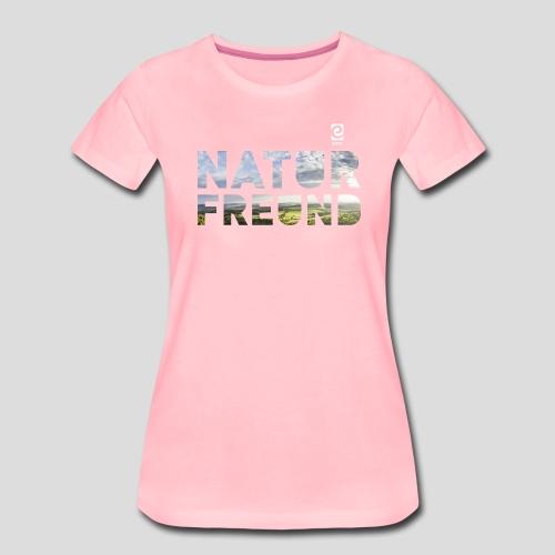 Naturfreund - weiß - Frauen Premium T-Shirt