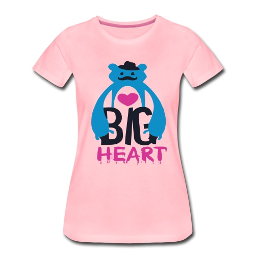 Big Heart Monster Hugs - Women's Premium T-Shirt