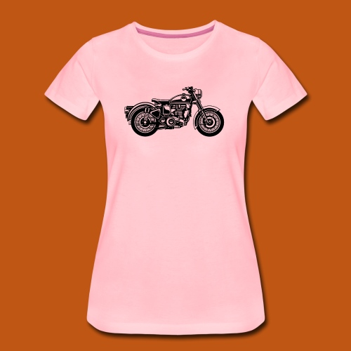 Motorrad / Classic Motorcycle 04_schwarz - Frauen Premium T-Shirt