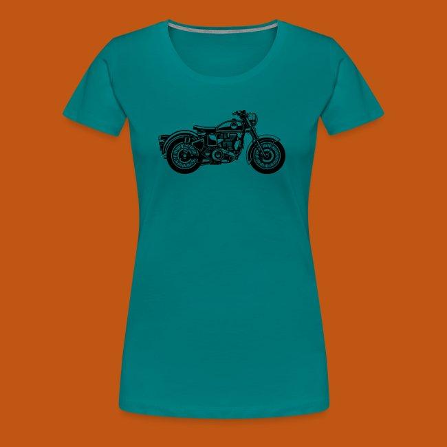 Motorrad / Classic Motorcycle 04_schwarz