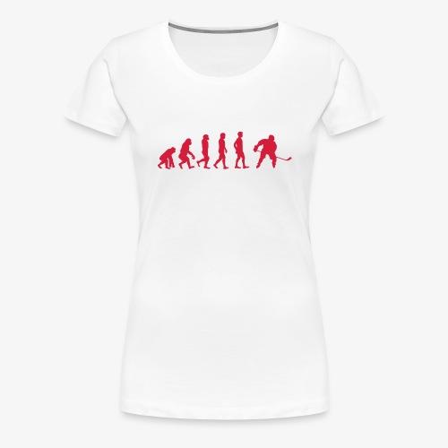HockeyEvolution - Frauen Premium T-Shirt