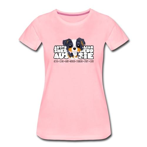 Aussie (Trico) - DGBigHead - Women's Premium T-Shirt