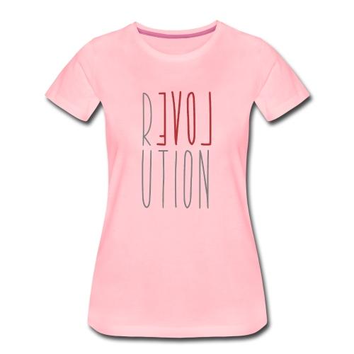 Love Peace Revolution - Liebe Frieden Statement - Frauen Premium T-Shirt