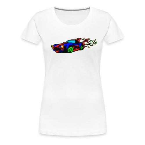 auto fahrzeug tuning - Frauen Premium T-Shirt