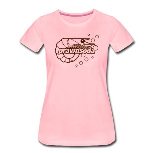 Prawnsoda Logo 1 - Women's Premium T-Shirt