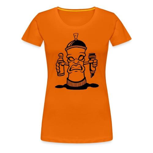 Graffiti Spraydose - Frauen Premium T-Shirt