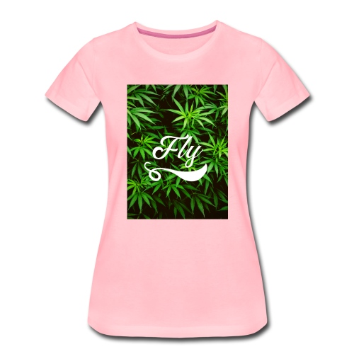 Fly by Oak - Frauen Premium T-Shirt