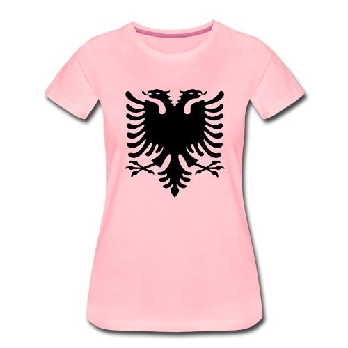 Albanische Flagge / Albanischer Adler / Shqiponja - Frauen Premium T-Shirt