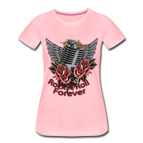 Rock'n'Roll Forever - Frauen Premium T-Shirt