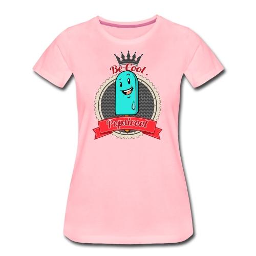 Popsicool - Maglietta Premium da donna