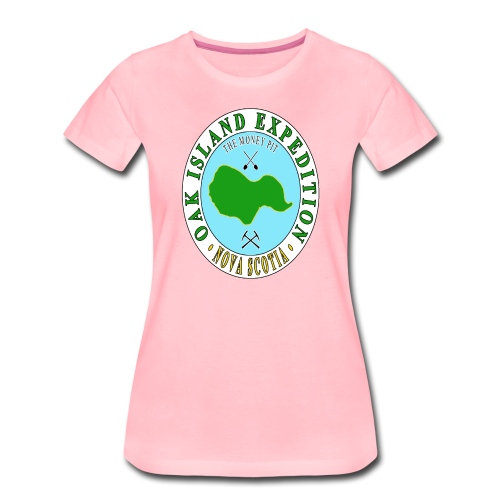 Oak Island Money Pit Expedition - Women's Premium T-Shirt