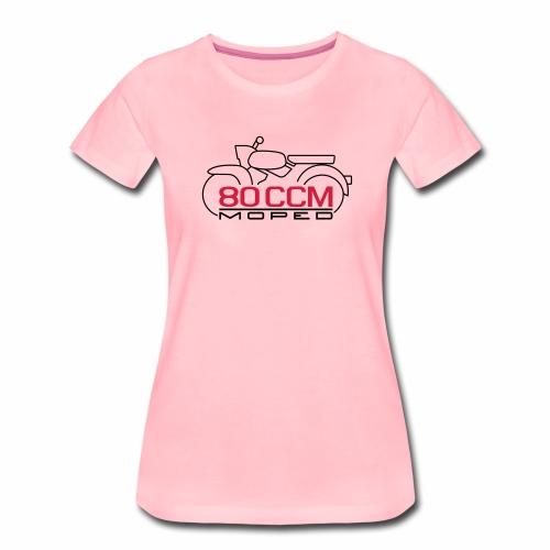 Moped Sperber Habicht 80 ccm Emblem - Women's Premium T-Shirt