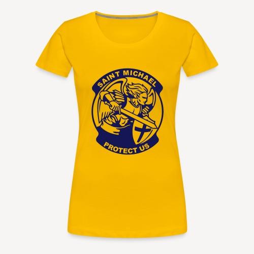 SAINT MICHAEL PROTECT US - Women's Premium T-Shirt