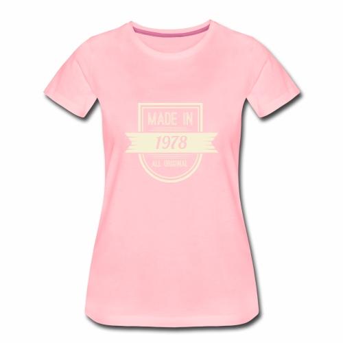 1978 - Vrouwen Premium T-shirt