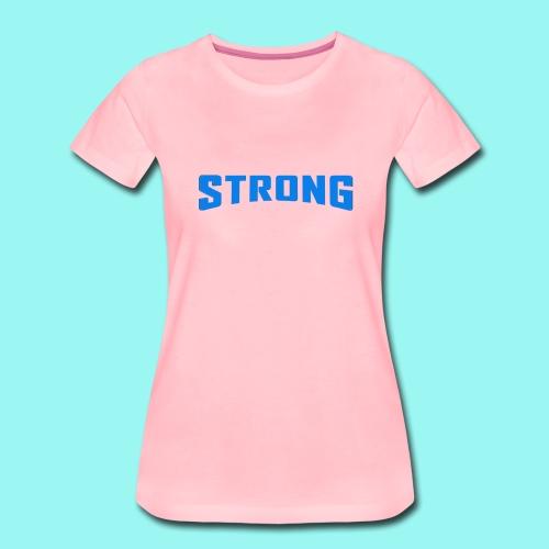Strong T-shirt for men & women Organic - Women's Premium T-Shirt
