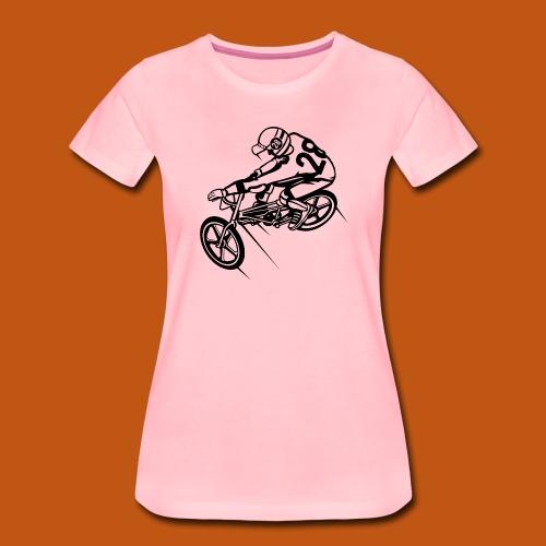 BMX Fahrrad / Bike 01_schwarz - Frauen Premium T-Shirt