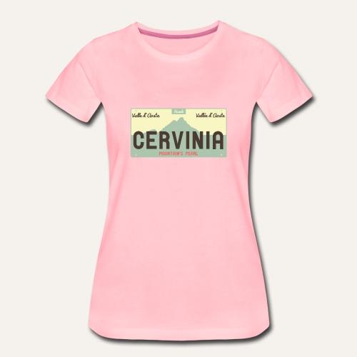Plates II Cervinia - Maglietta Premium da donna