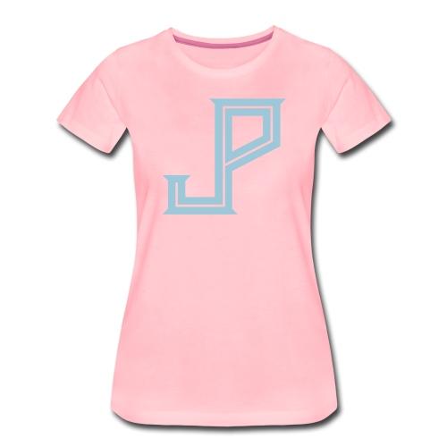 JP - Judy Punch logo - Women's Premium T-Shirt