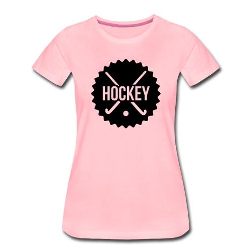 hockey - Vrouwen Premium T-shirt