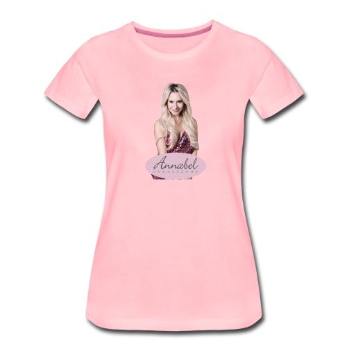 Annabel Anderson Portrait - Frauen Premium T-Shirt