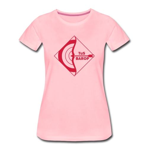 Klein Logo Bogen Tus Barop - Frauen Premium T-Shirt