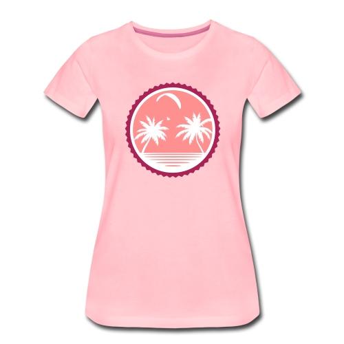 Paragliding Beach - Frauen Premium T-Shirt