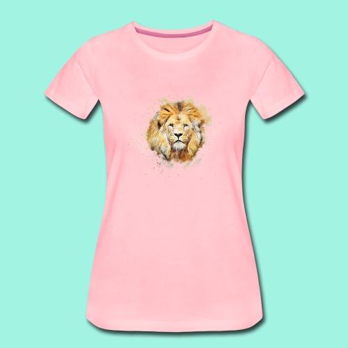 Der Löwe - Frauen Premium T-Shirt