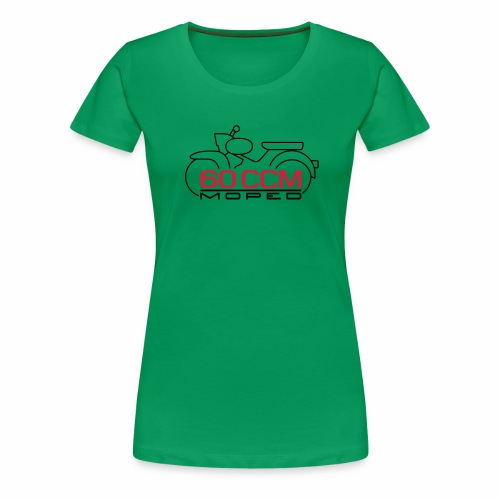 Moped Star 60 ccm Emblem - Women's Premium T-Shirt