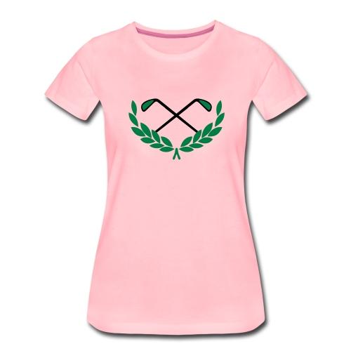 Golf - Frauen Premium T-Shirt