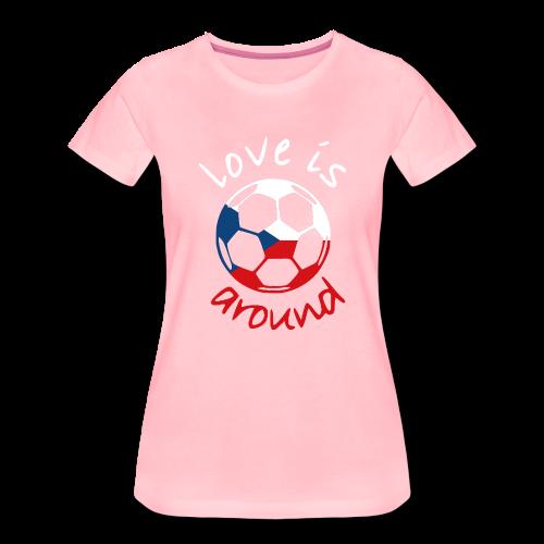 libaCZECHflag - Women's Premium T-Shirt