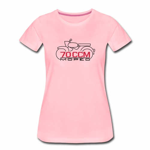 Moped Sperber Habicht 70 ccm Emblem - Women's Premium T-Shirt