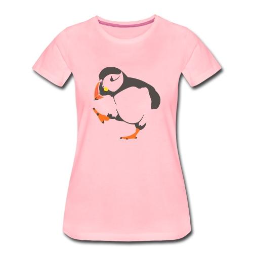Walking puffin - Women's Premium T-Shirt