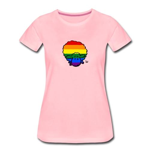 Regenbogen-Stolz-Schafe - Frauen Premium T-Shirt