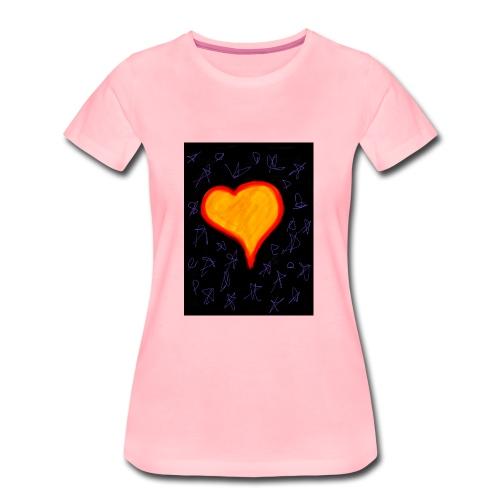 EBB28264 DA7C 4733 A693 59A1BA509DDC - Dame premium T-shirt