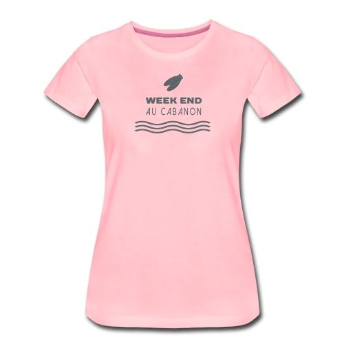 Week end au cabanon - T-shirt Premium Femme