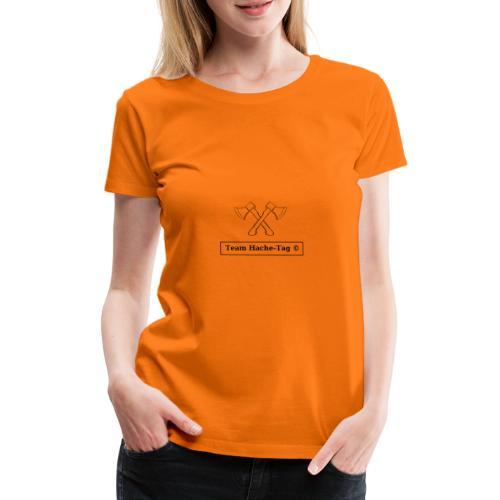 Logo Team Hache-Tag - T-shirt Premium Femme