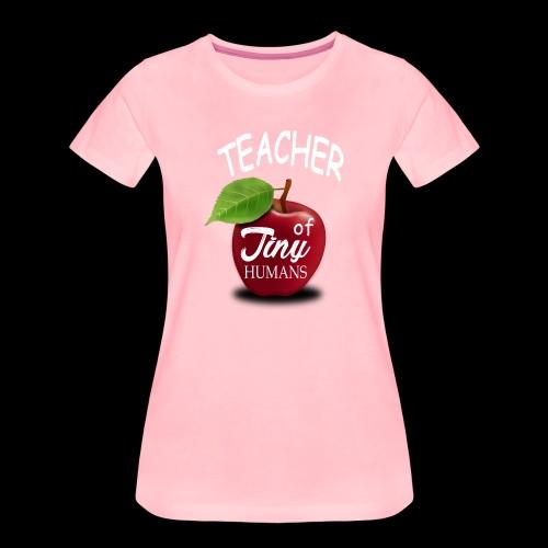 Lehrer kleine Menschen - Frauen Premium T-Shirt