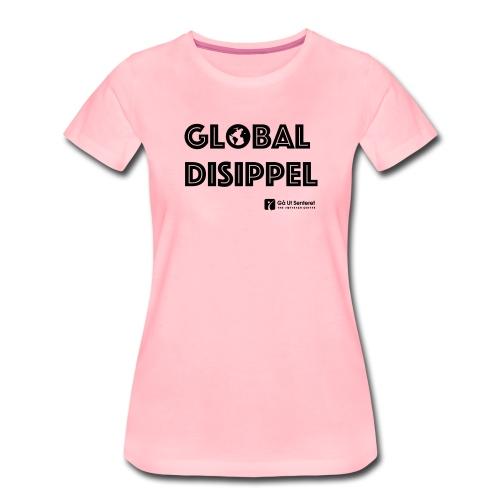 Global disippel - Premium T-skjorte for kvinner