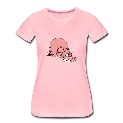 Like U - Premium-T-shirt dam