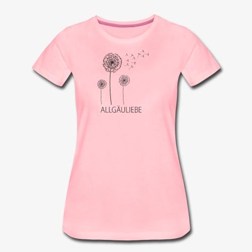 Allgäuliebe - Frauen Premium T-Shirt