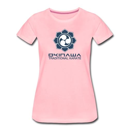 Okinawan Karate - Women's Premium T-Shirt