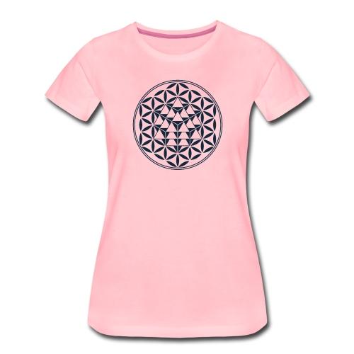 Vector Equilibrium, Geometria Sacra - Maglietta Premium da donna