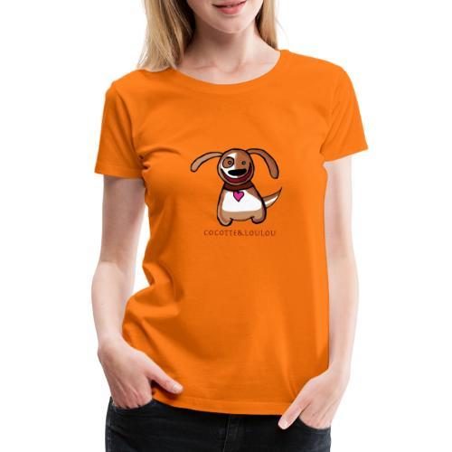 Titou le chien - T-shirt Premium Femme
