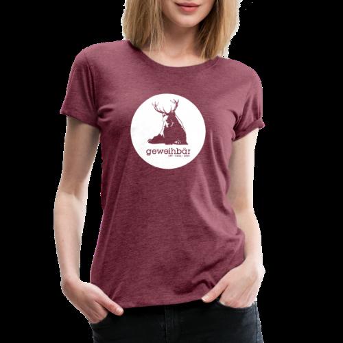 geweihbär - Frauen Premium T-Shirt