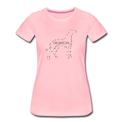 Dalmata: Il migliore(maculato) amico dell'uomo - Maglietta Premium da donna