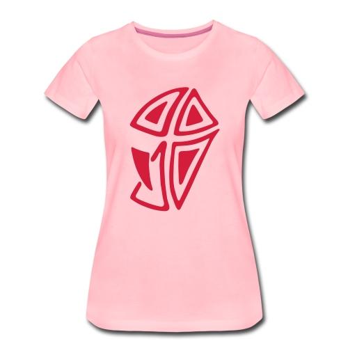 Mini Logo I - Frauen Premium T-Shirt
