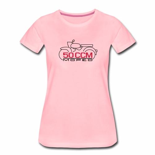 Moped Sperber Habicht 50 ccm Emblem - Women's Premium T-Shirt