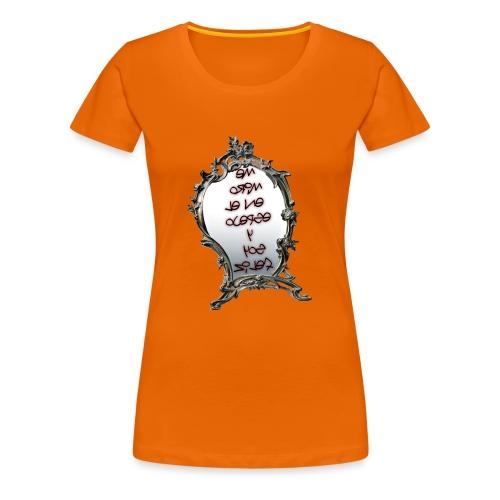Para el Espejo:ME MIRO EN EL ESPEJO Y SOY FELIZ - Camiseta premium mujer