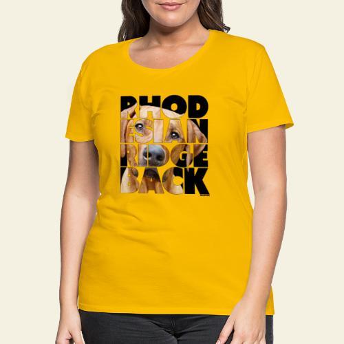 NASSU Rhode 2 - Naisten premium t-paita